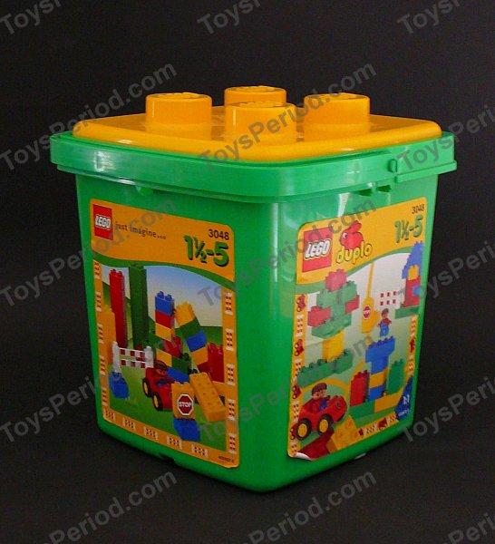 Lego 3048 1 Medium Duplo Bucket Set Parts Inventory And
