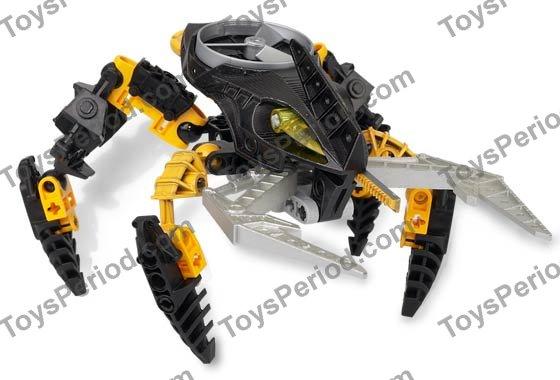 Lego 8744 Visorak Oohnorak Set Parts Inventory And