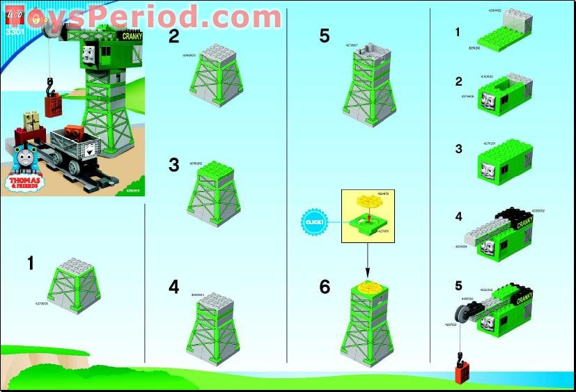 lego 3301 cargo loading cranky set parts inventory and instructions rh toysperiod com User Training Online User Guide