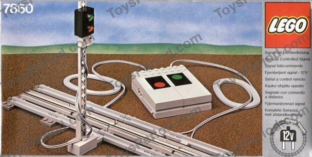 Lego 12 V Eisenbahn Signal 7860