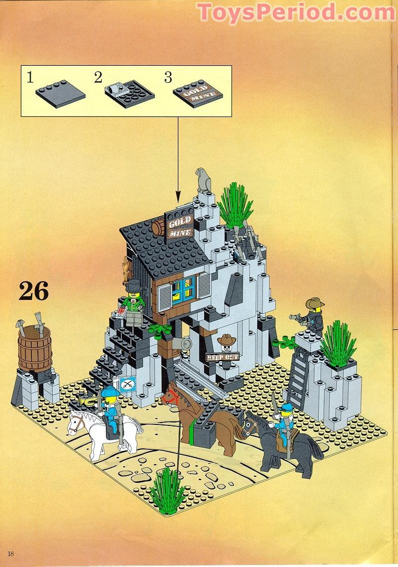 Lego 6761 Bandits Secret Hide Out Set Parts Inventory And