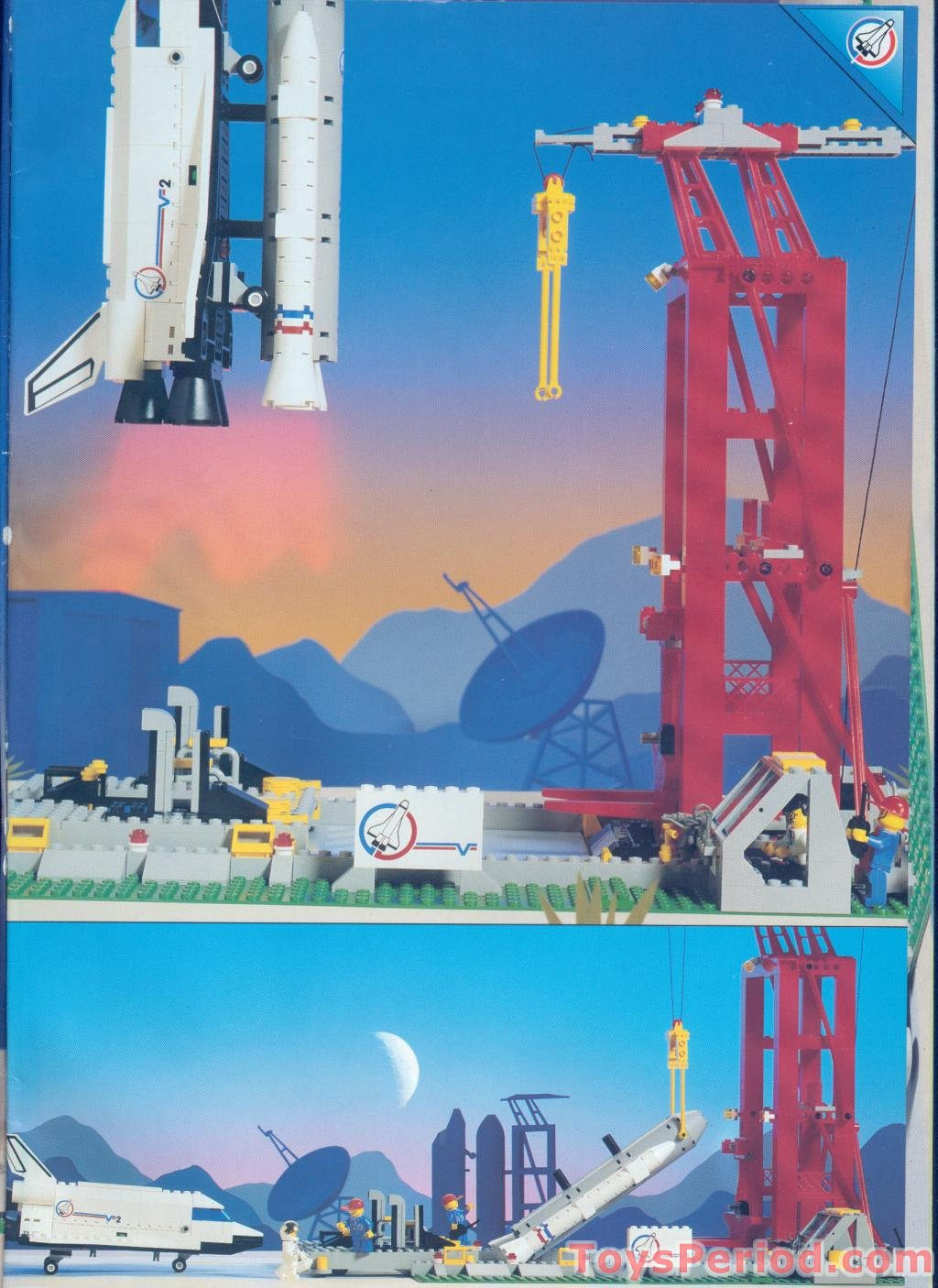 lego space shuttle launch pad 6339 - photo #14