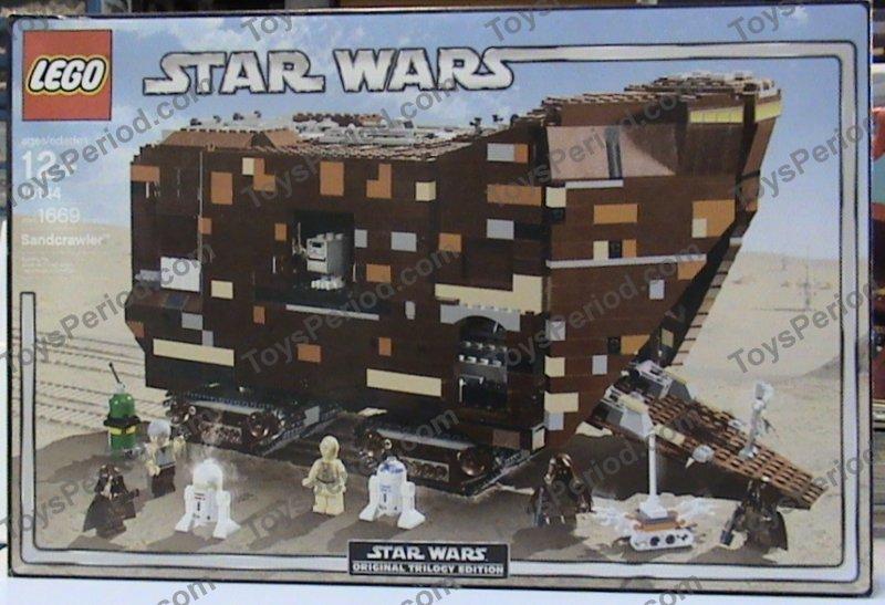 Lego 10144 Sandcrawler Set Parts Inventory And Instructions Lego