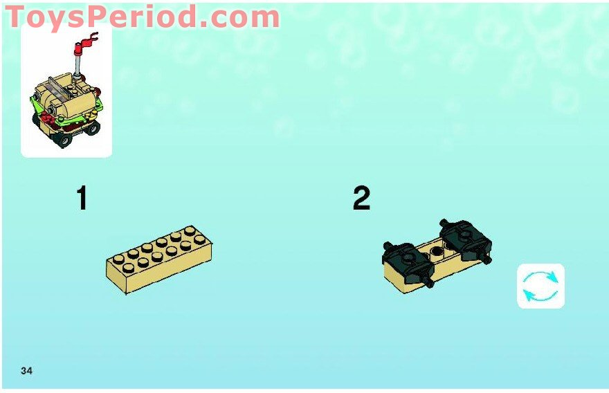 Lego 3833 Krusty Krab Adventures Set Parts Inventory And