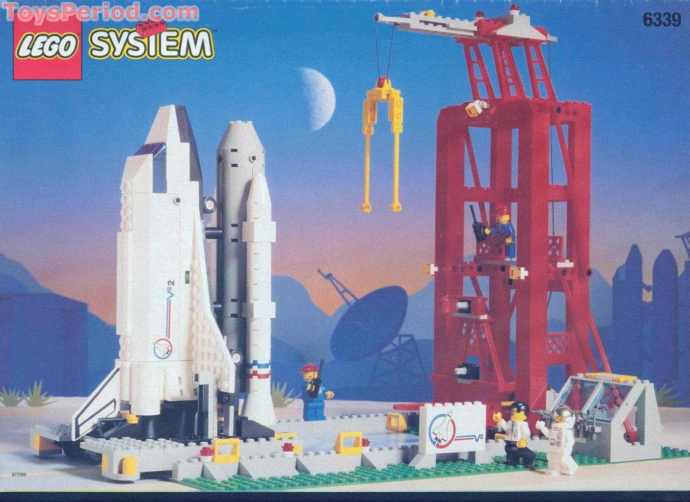 lego 6339 shuttle launch pad set parts inventory and. Black Bedroom Furniture Sets. Home Design Ideas