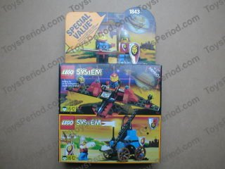 Lego 1843 Space And Castle Value Pack Set Parts Inventory And