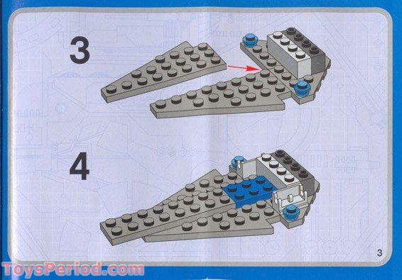 Mini Lego Star Wars Ships Instructions Bigking Keywords And Pictures