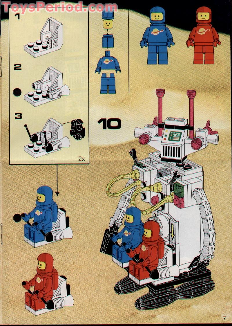 LEGO 6750 Light and Sound Sonic Robot Set Parts Inventory