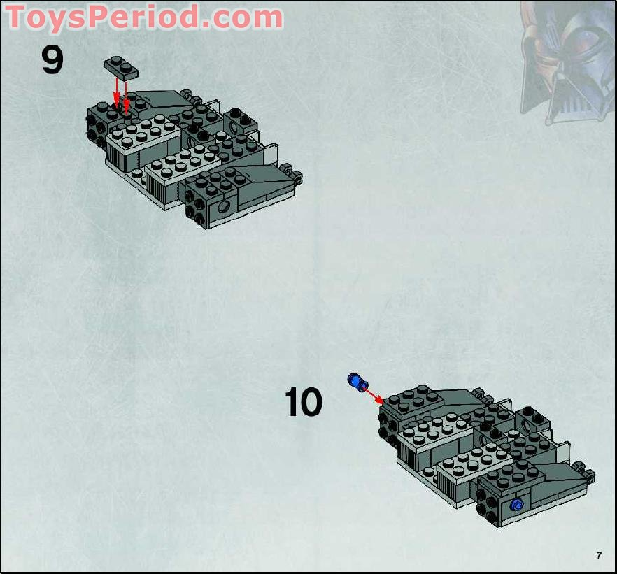 lego at st walker instructions