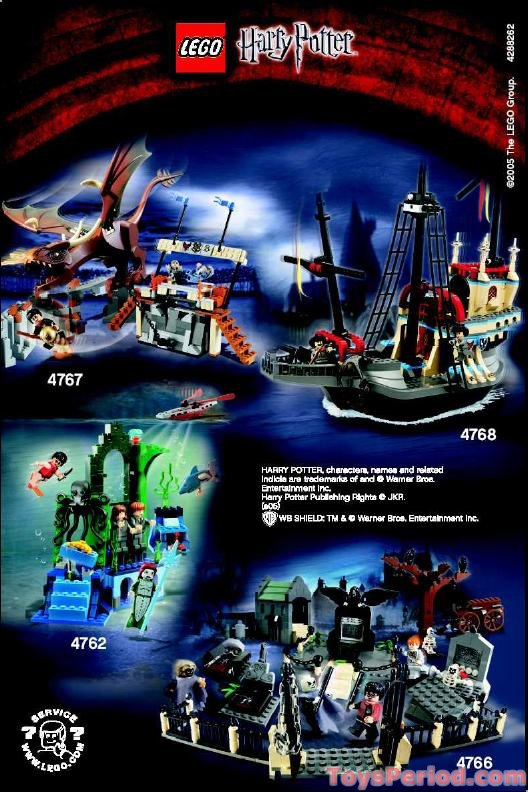 Lego 4762 Rescue From The Merpeople Set Parts Inventory
