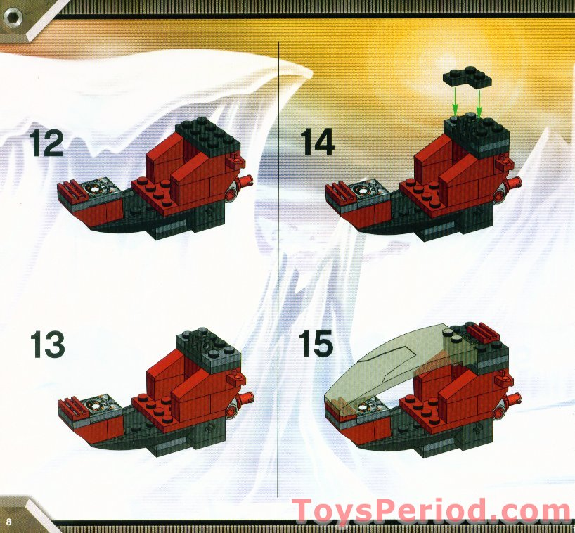 Lego 4774 Scorpion Orb Launcher Set Parts Inventory And Instructions
