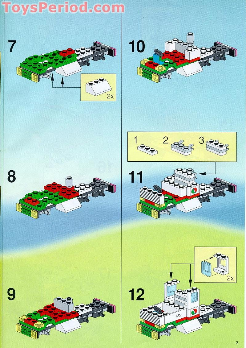 Lego 6335 Indy Transport Set Parts Inventory And