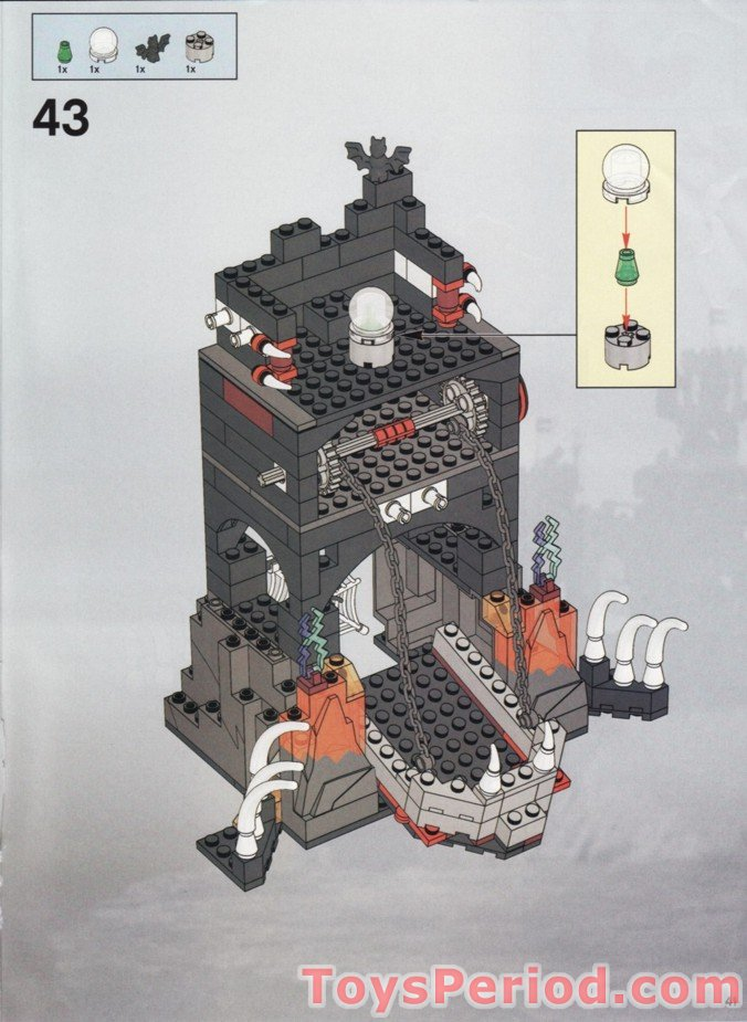 imaginarium dragon tower castle instructions