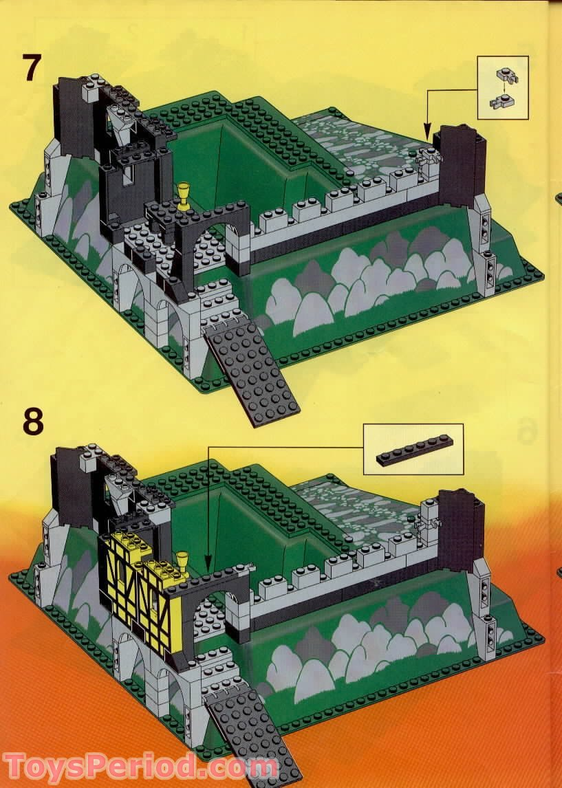 lego 6086 black knight 39 s castle set parts inventory and instructions lego reference guide. Black Bedroom Furniture Sets. Home Design Ideas