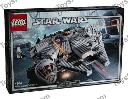 Lego 4504 1 Millennium Falcon Redesign Blue Box Set Parts
