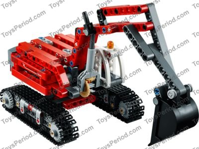 41763 // 42023 x4 LEGO Technic Slope Curved 6 x 1 Inverted