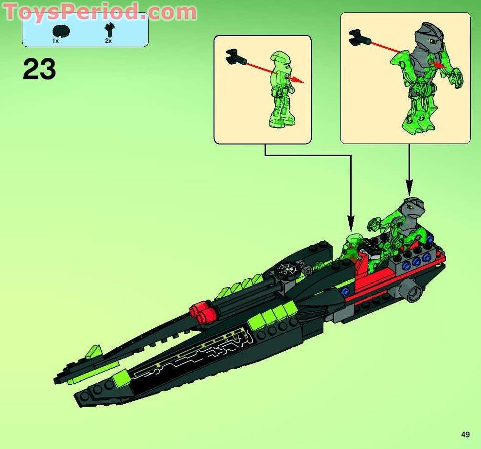 Lego 7646 Etx Alien Infiltrator Set Parts Inventory And