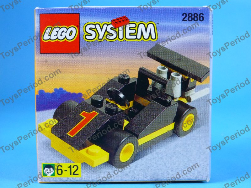 Town Theme Sets Lego 2886 Formula 1 Racing Car Classic Town Race Misb New