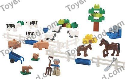 Lego 9228 Farm Animals Set Parts Inventory And