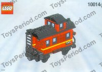 LEGO My Own Train Caboose New in Box Retired Set  LEGO 10014