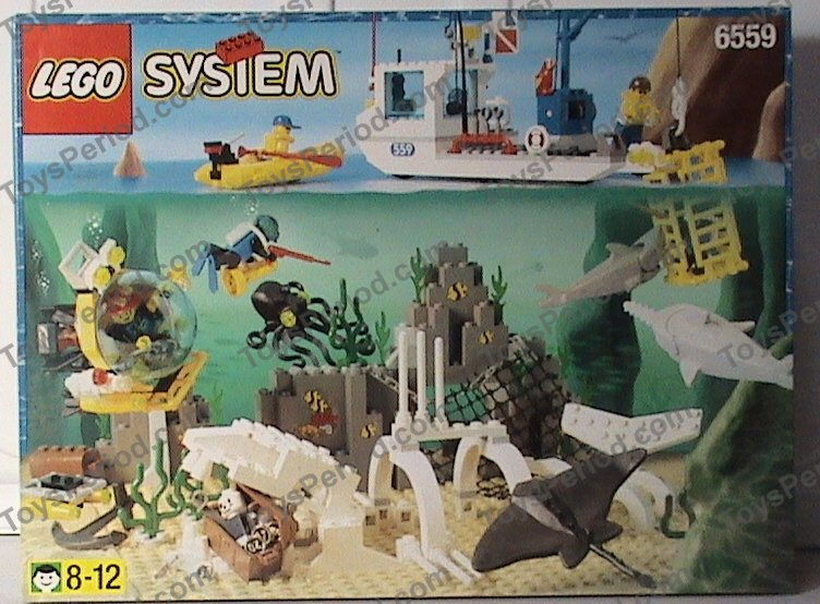Lego 6559 Deep Sea Bounty Set Parts Inventory And Instructions