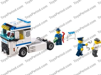 Lego 60044 Mobile Police Unit Set Parts Inventory And Instructions