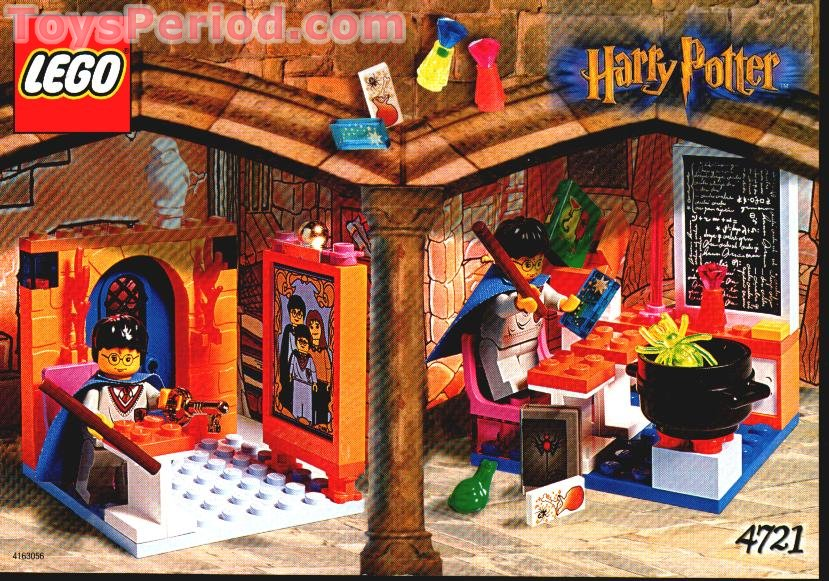 Lego 4721 Hogwarts Classroom Set Parts Inventory And Instructions