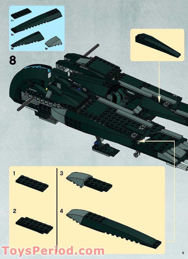 lego star wars rogue shadow building instructions