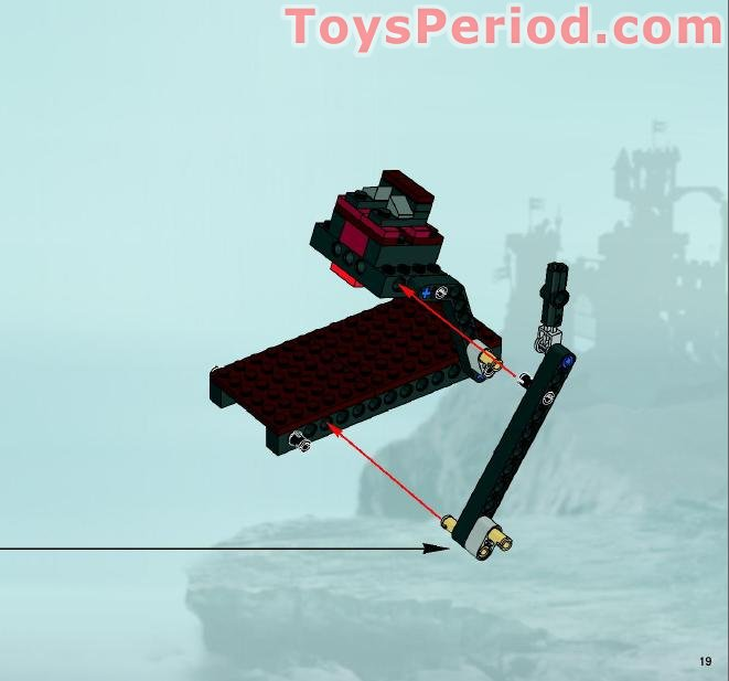 Lego 7038 Troll Assault Wagon Set Parts Inventory And