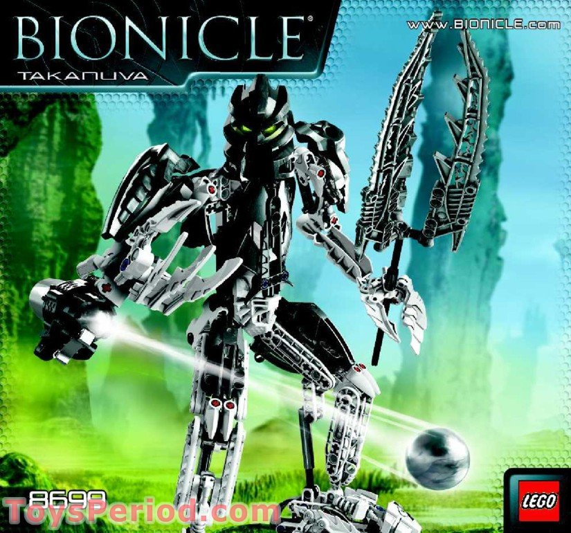 lego 8699 takanuva set parts inventory and instructions. Black Bedroom Furniture Sets. Home Design Ideas