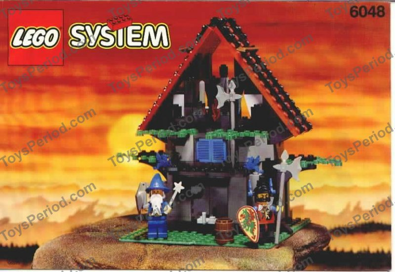 Lego 6048 Majisto S Magical Workshop Set Parts Inventory