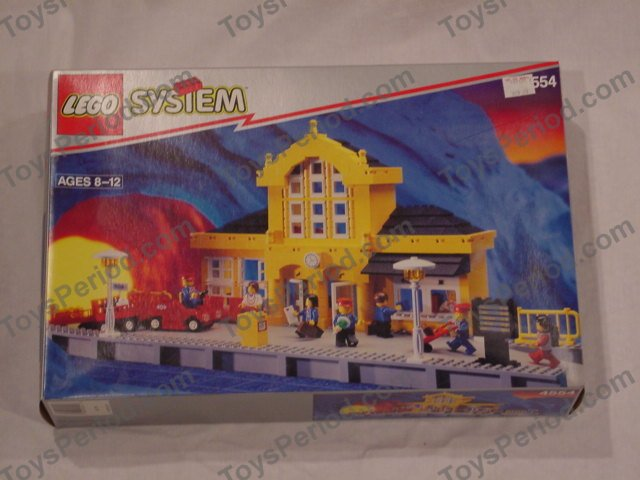 Lego 4554 Metro Station Set Parts Inventory And Instructions Lego