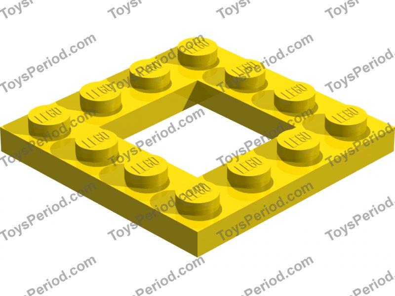 New New Flat 2x16 Black Black 2 x lego 4282 Plate