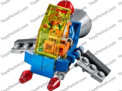 mini lego spaceship instructions