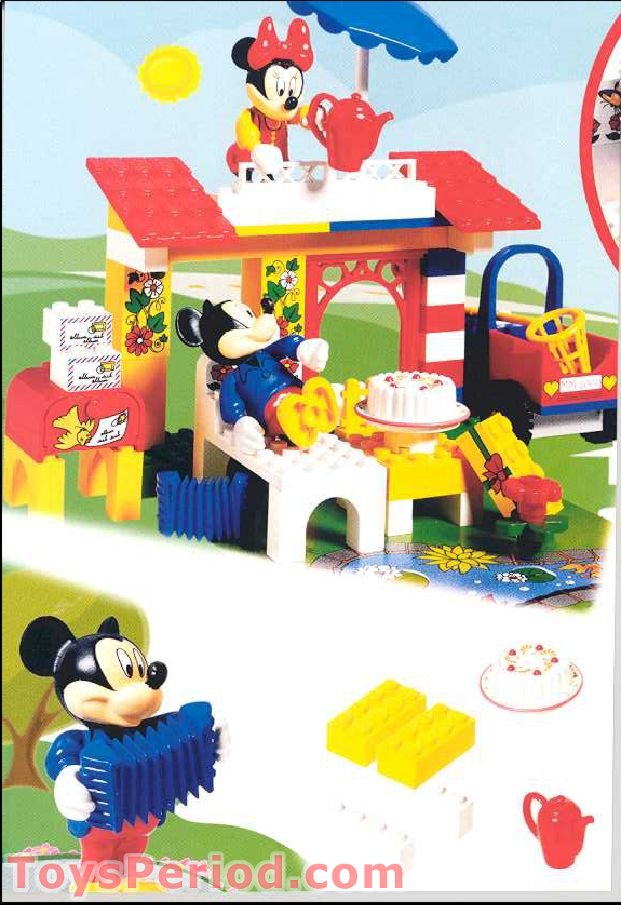 Lego 4165 Minnie S Birthday Party Set Parts Inventory And