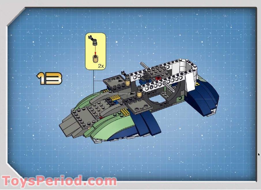 Lego Boba Fett Ship Instructions