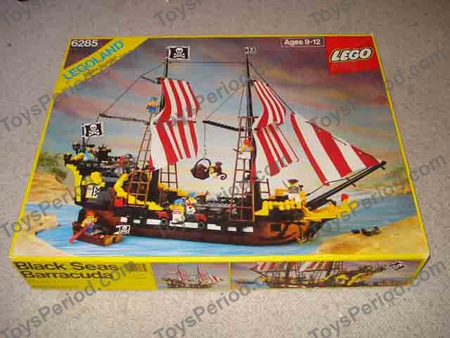 Lego 6285 Black Seas Barracuda Set Parts Inventory And Instructions