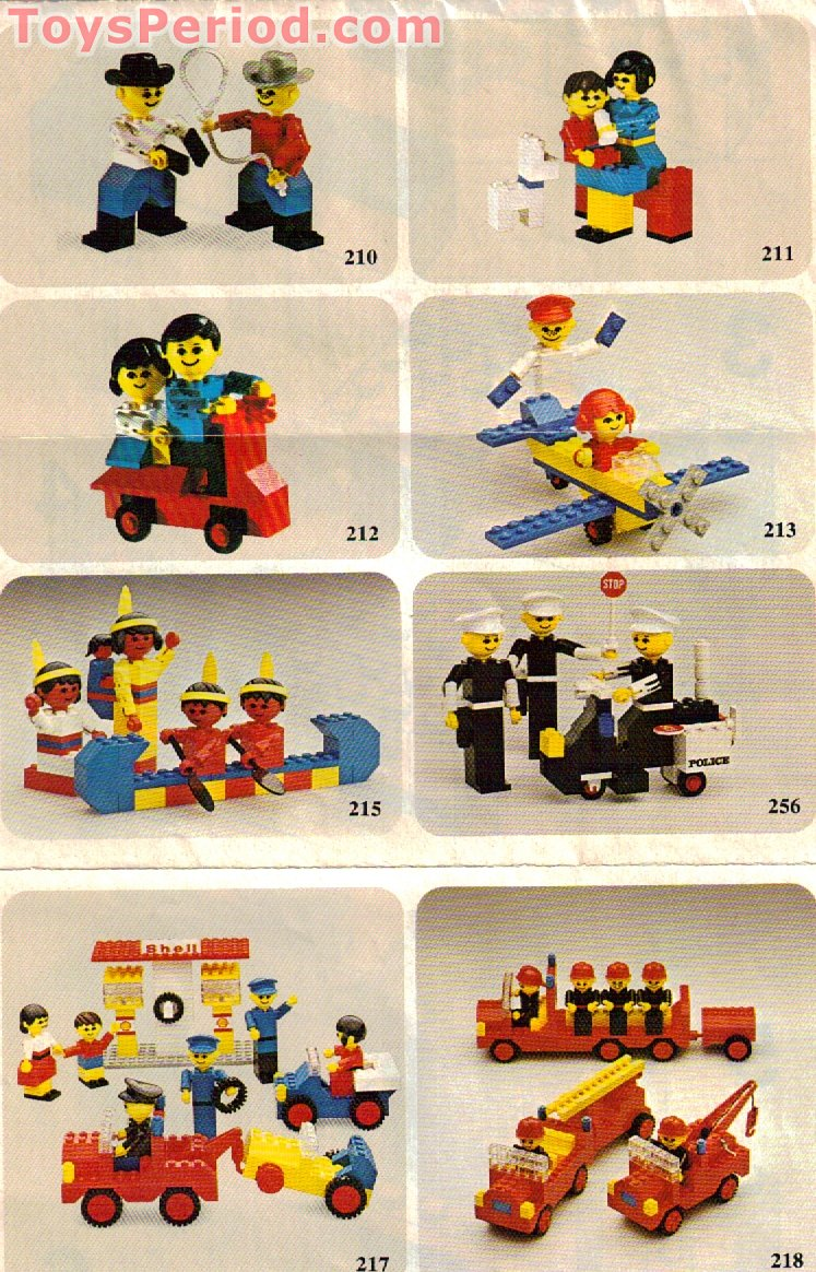 LEGO 214-1 LEGO Building Set with People - Road Repair Set