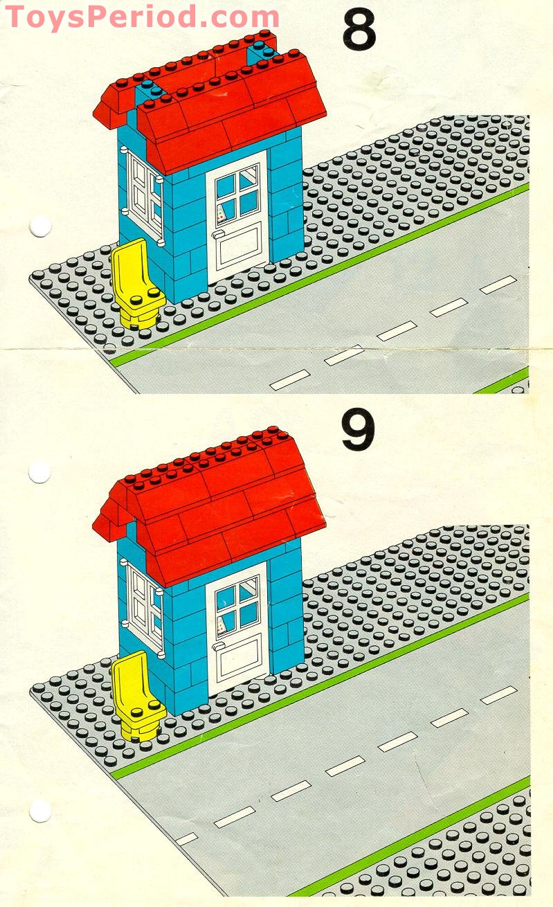 LEGO 7834 Level Crossing Manual Set Parts Inventory and ... | 799 x 1310 jpeg 270kB