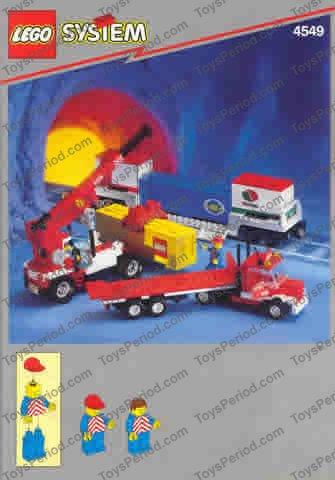 LEGO 3069bp09 @@ Tile 1 x 2 Danger Chevrons Red Pattern @@ 4549 6346 6542 6982