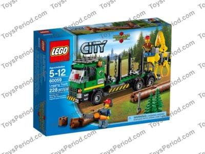 Lego 60059 Logging Truck Set Parts Inventory And Instructions Lego