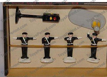 10 x Police Traffic Cones Genuine Lego Pieces