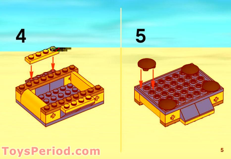 lego boat instructions 6191