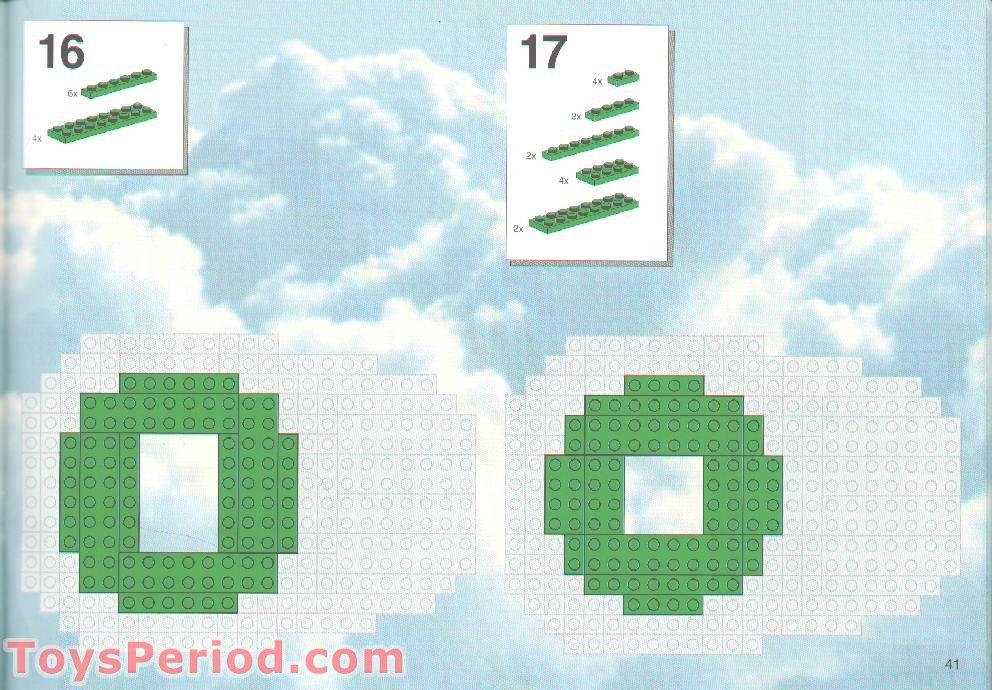 giant lego minifigure instructions