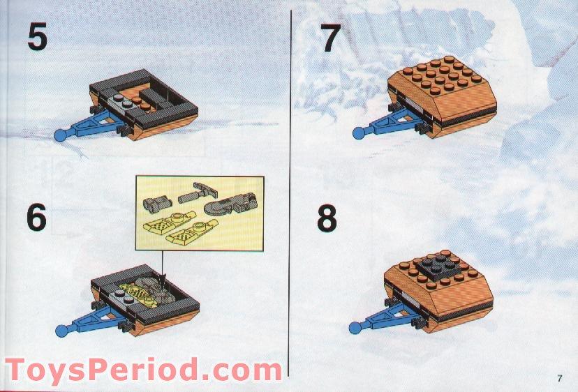lego polar bear instructions