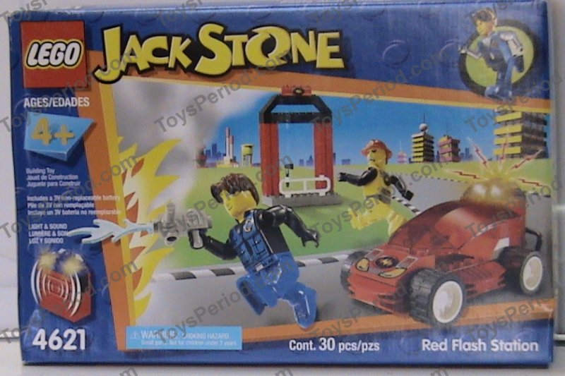 lego 4621 jack stone red flash station set parts inventory. Black Bedroom Furniture Sets. Home Design Ideas