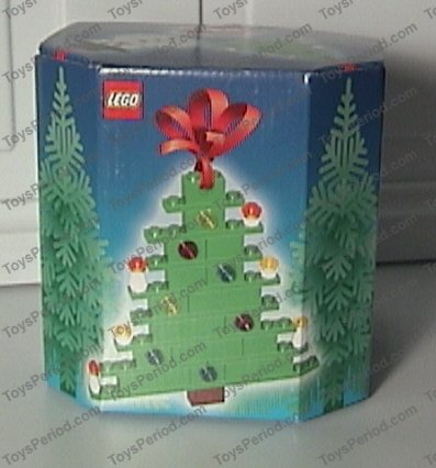 Lego 4759 Three Christmas Decorations Santa Tree And Snowman Set