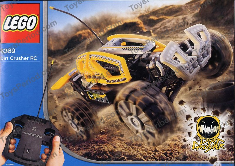 lego 8369 1 dirt crusher rc set parts inventory and instructions lego reference guide. Black Bedroom Furniture Sets. Home Design Ideas