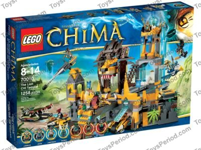 Lego 70010 The Lion Chi Temple Set Parts Inventory And Instructions