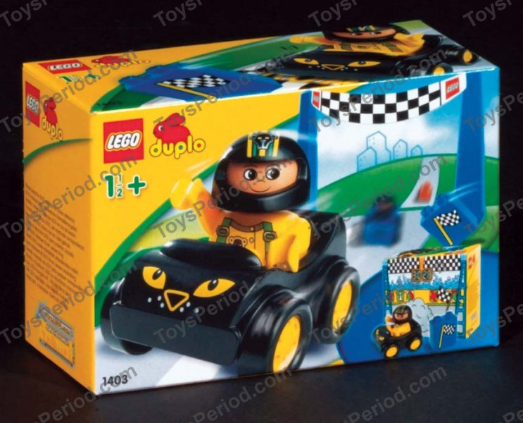 LEGO 1403 Racing Leopard Set Parts Inventory and ...